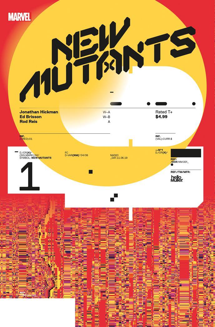 New Mutants #1 (2019)