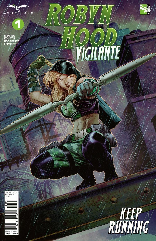 Robyn Hood: Vigilante #1 (2019)