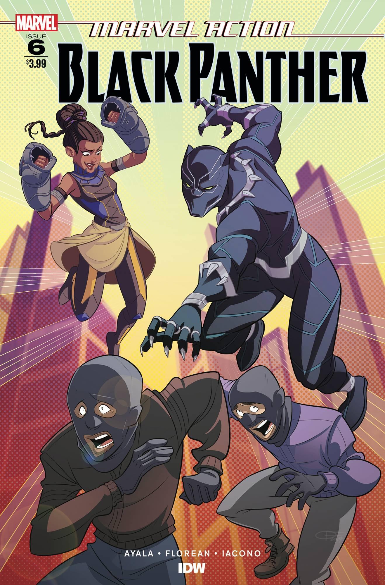 Marvel Action: Black Panther #6 (2019)