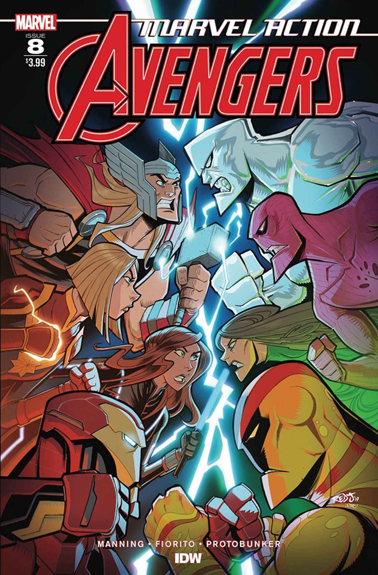 Marvel Action: Avengers #8 (2019)