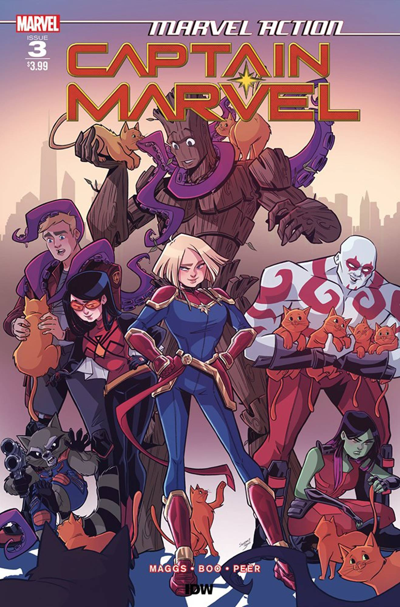 Marvel Action: Captain Marvel #3 (2019)