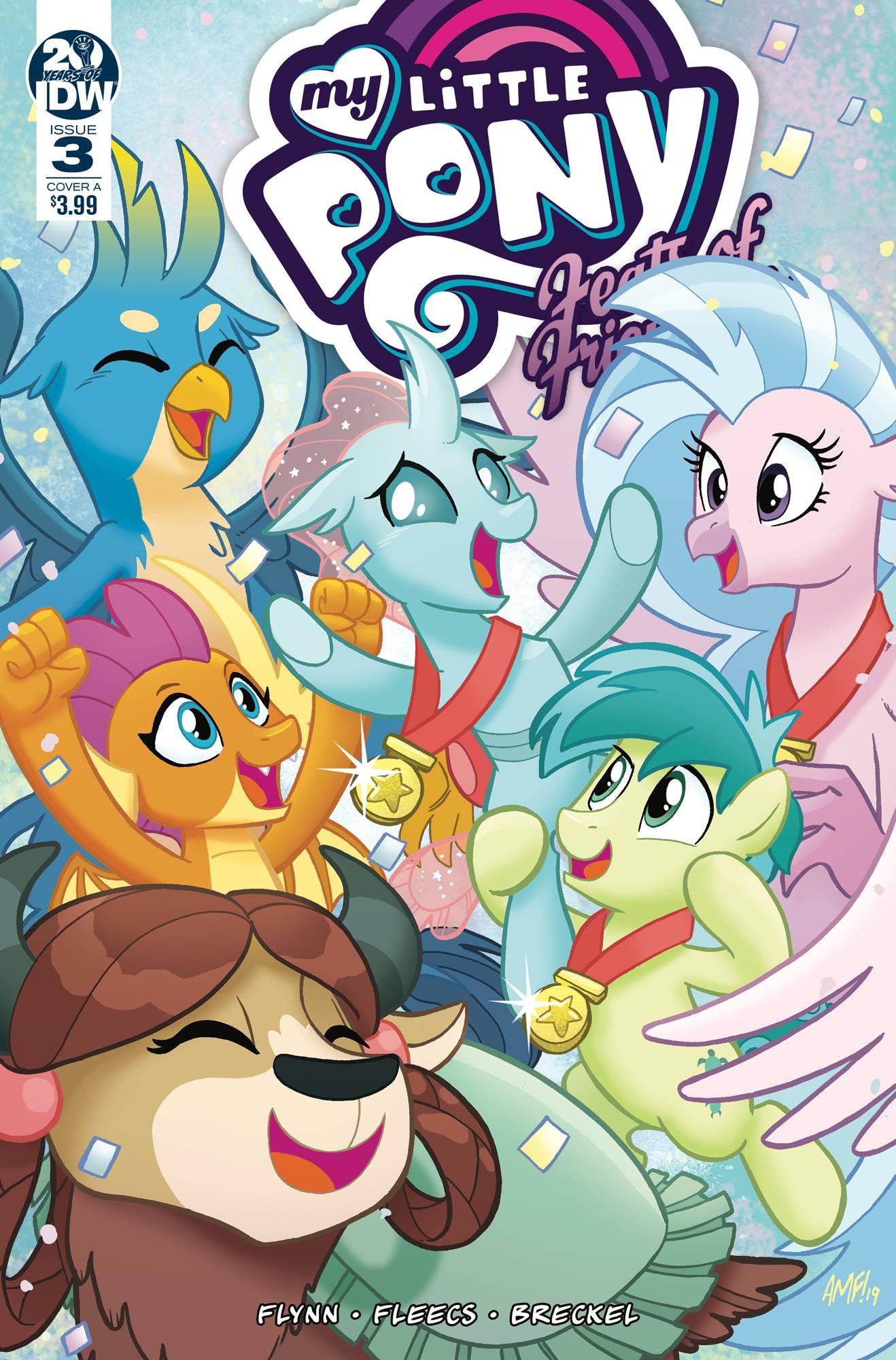 My Little Pony: Feats Of Friendship #3 (2019)