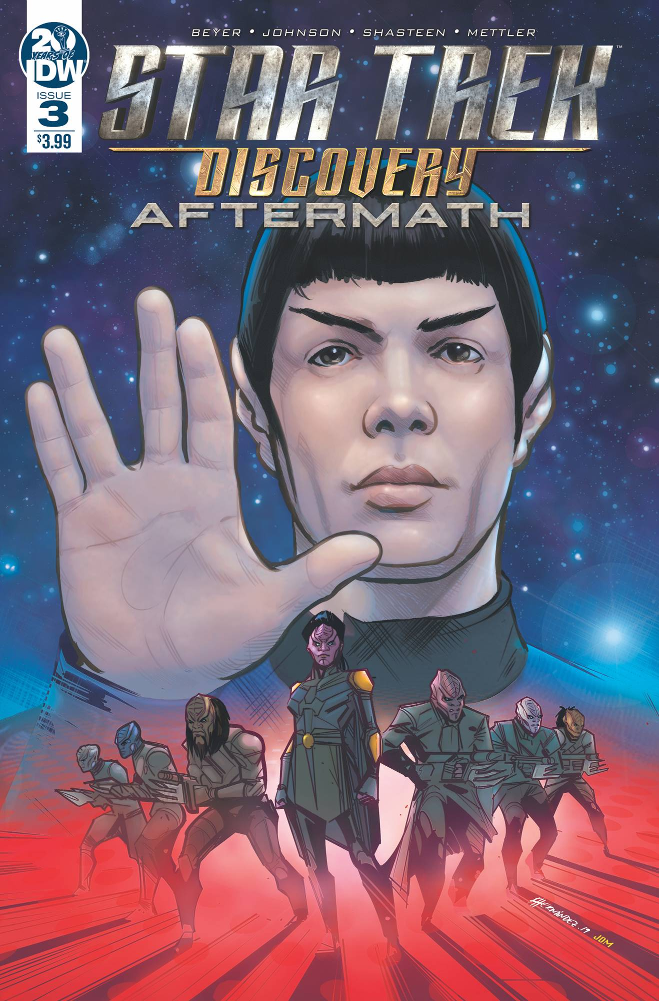 Star Trek: Discovery - Aftermath #3 (2019)