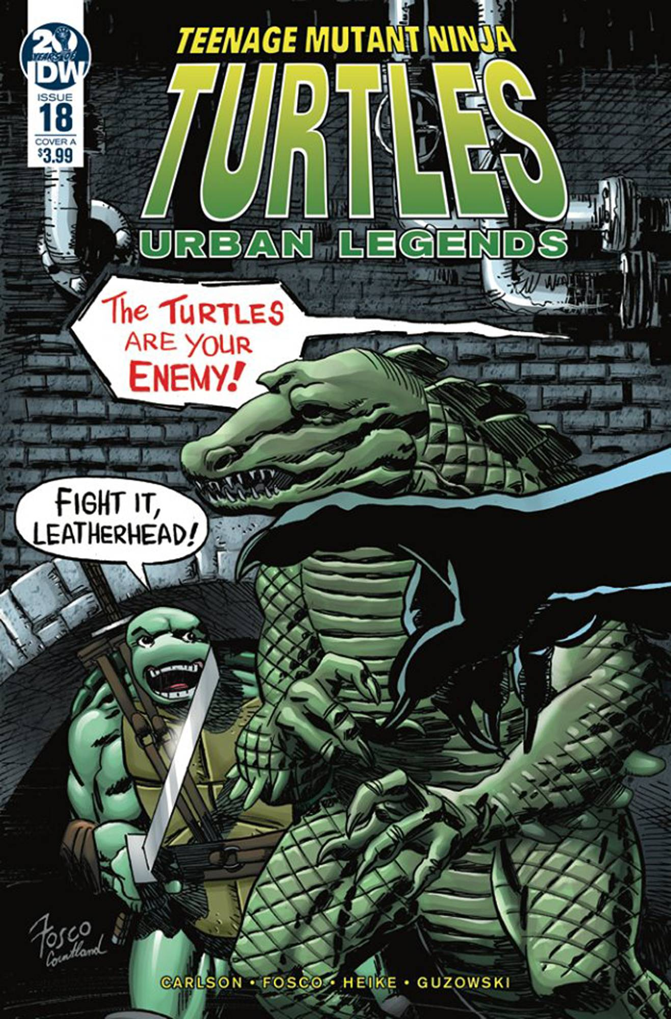 Teenage Mutant Ninja Turtles: Urban Legends #18 (2019)