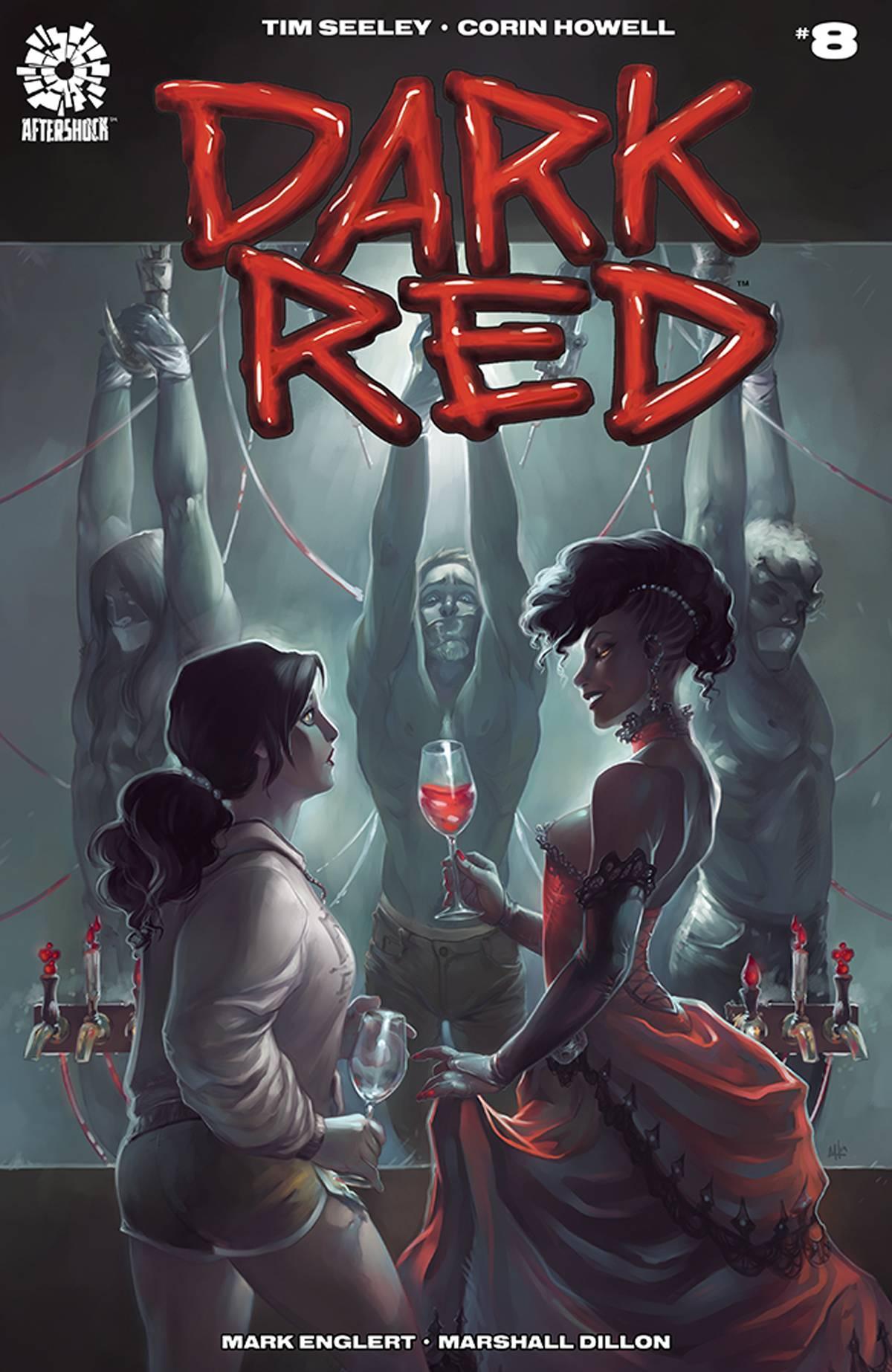 Dark Red #8 (2019)