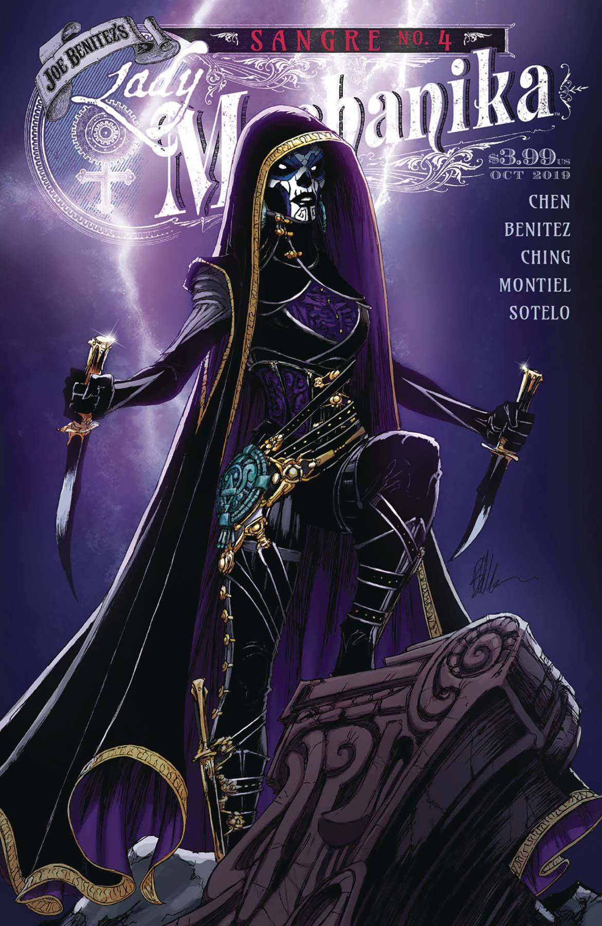 Lady Mechanika: Sangre #4 (2019)