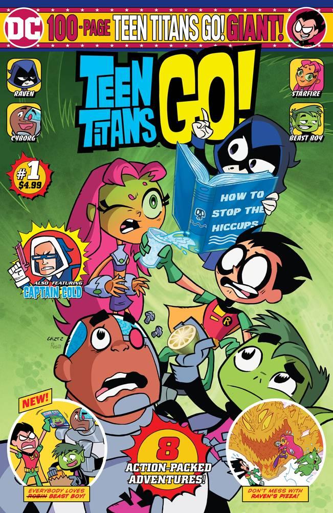 Teen Titans Go! Giant Size #1 (2019)