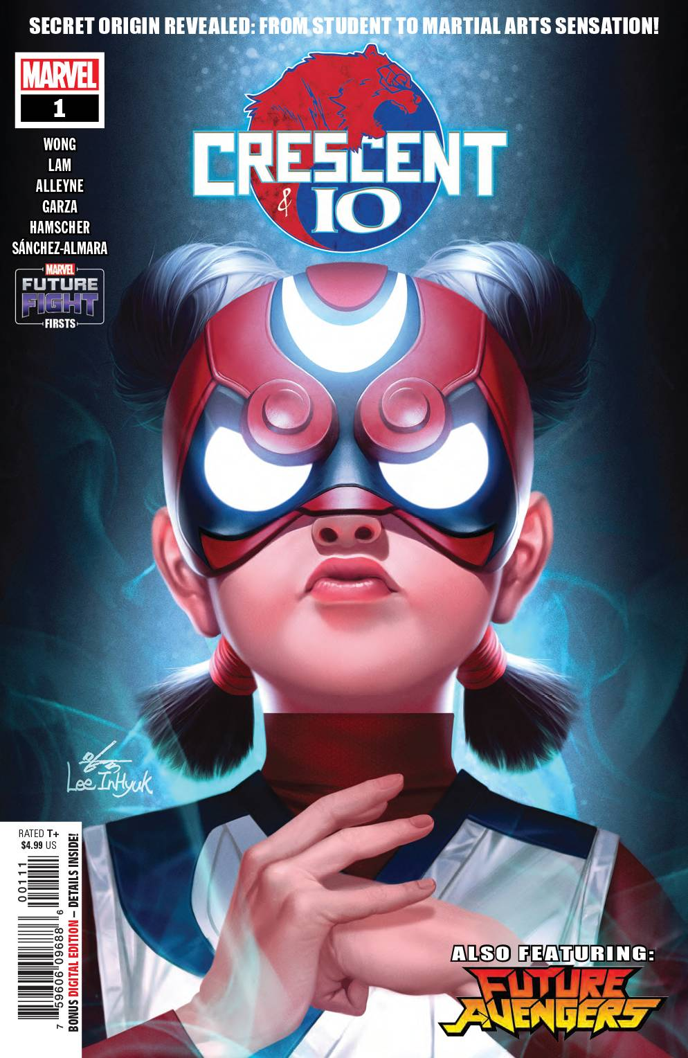 Future Fight Firsts: Crescent & IO #1 (2019)