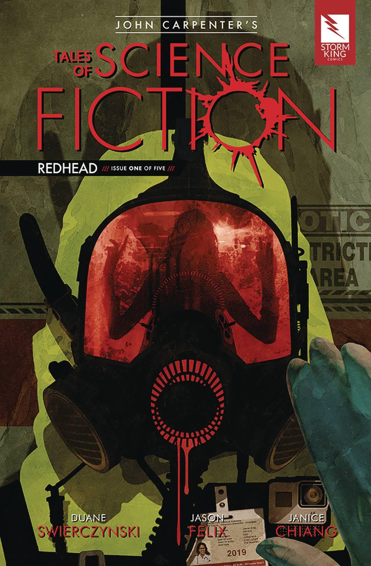 John Carpenter's Tales Science Fiction: Redhead #1 (2019)