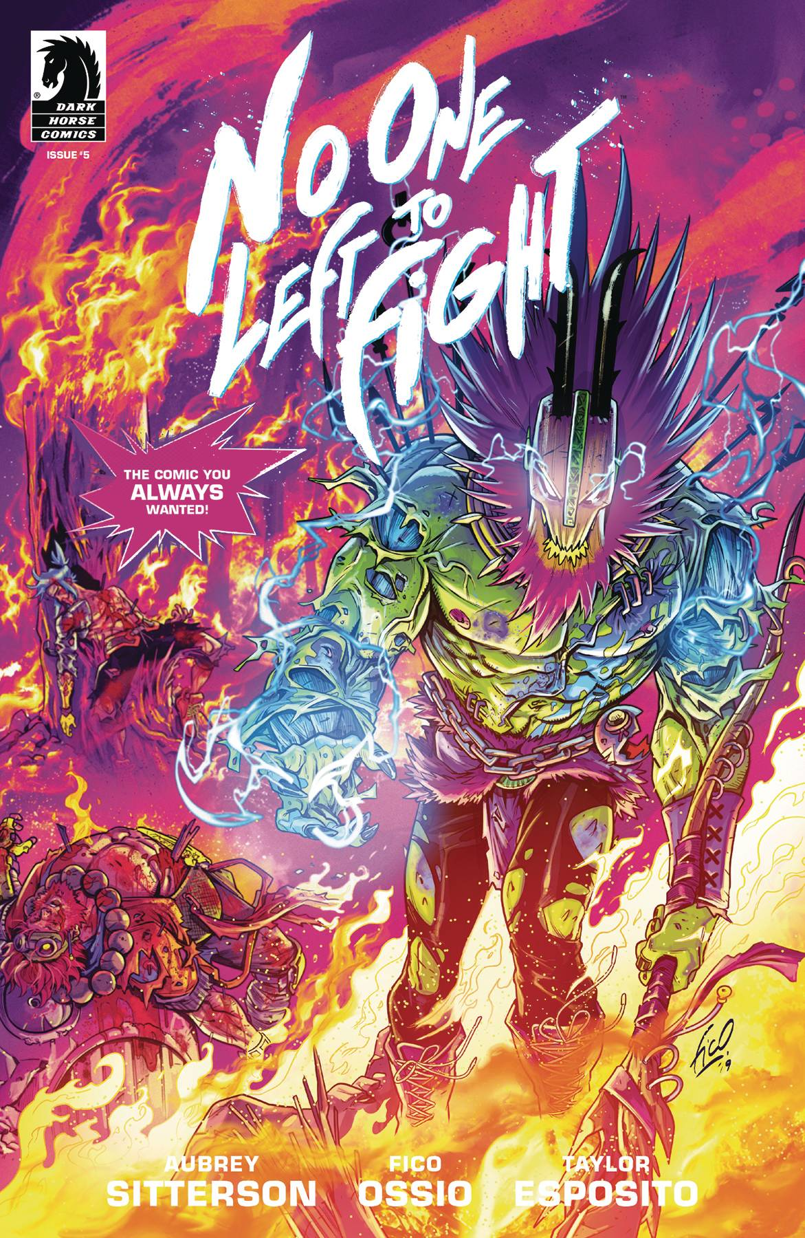 No One Left To Fight #5 (2019)