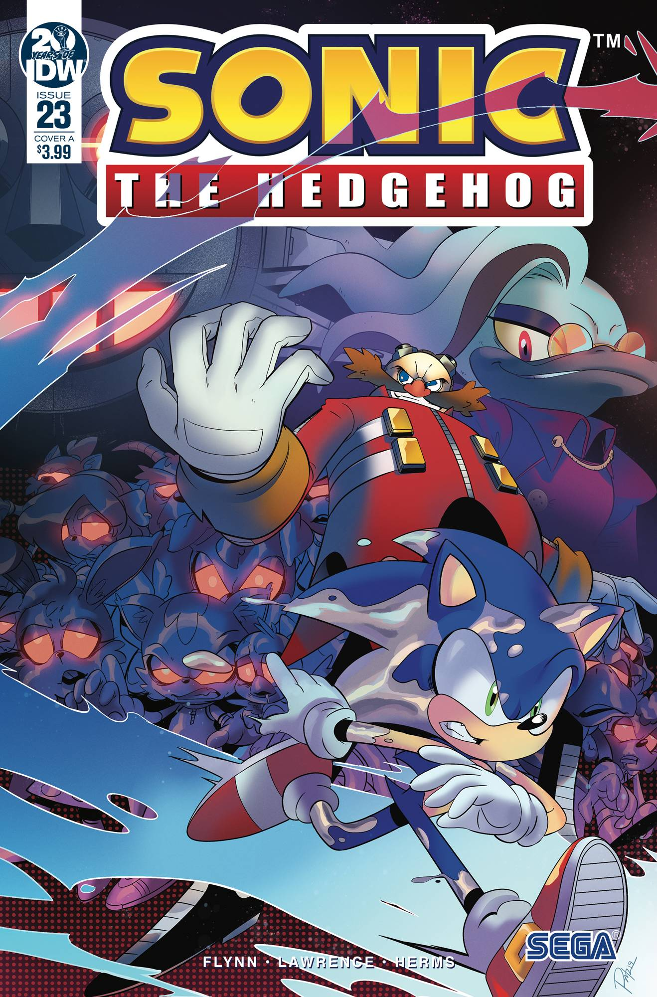 Sonic The Hedgehog #23 (2019)