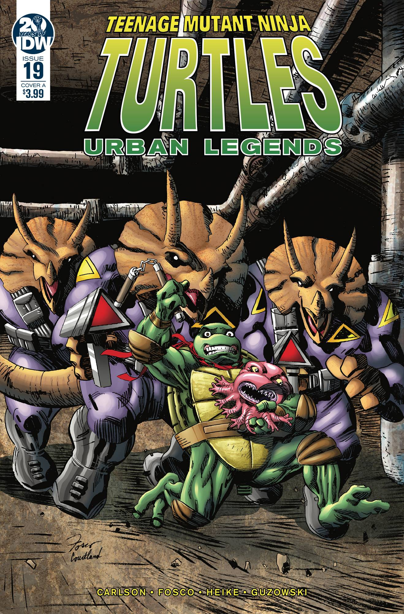 Teenage Mutant Ninja Turtles: Urban Legends #19 (2019)