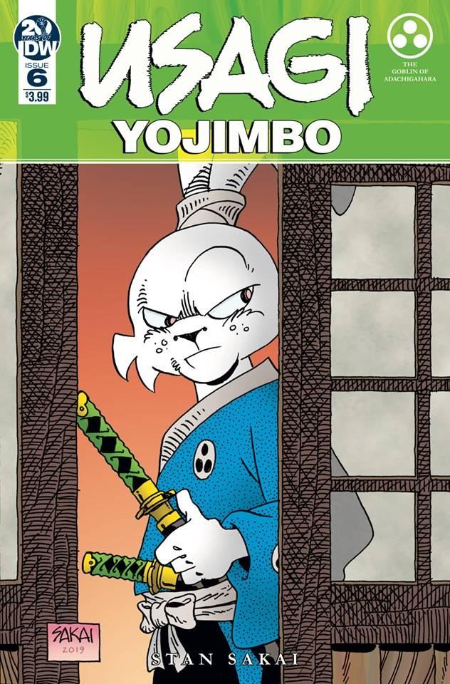 Usagi Yojimbo #6 (2019)