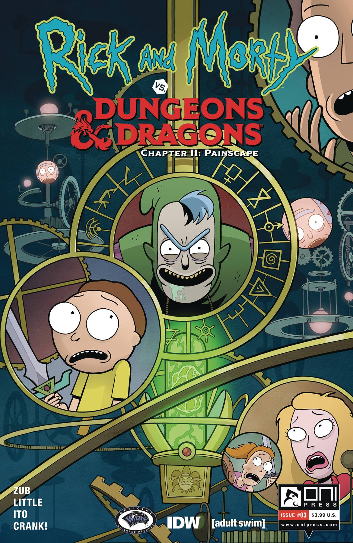 Rick and Morty vs Dungeons & Dragons II: Painscape #3 (2019)