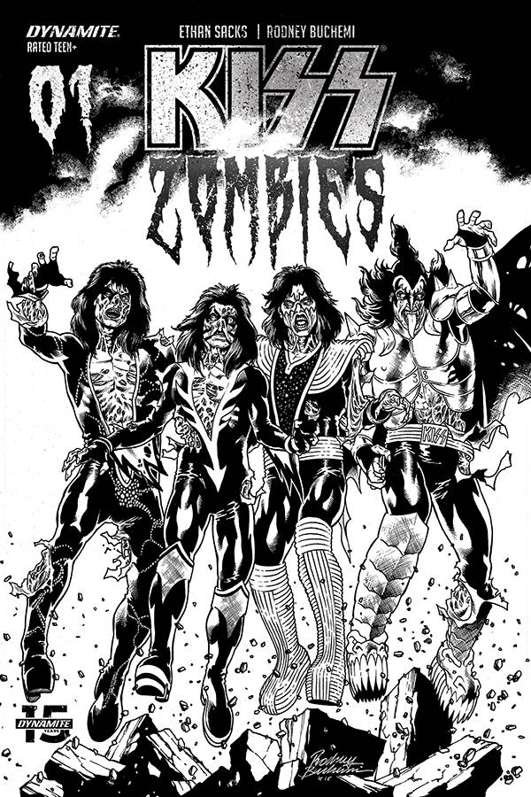 KISS: Zombies #1 (2019)