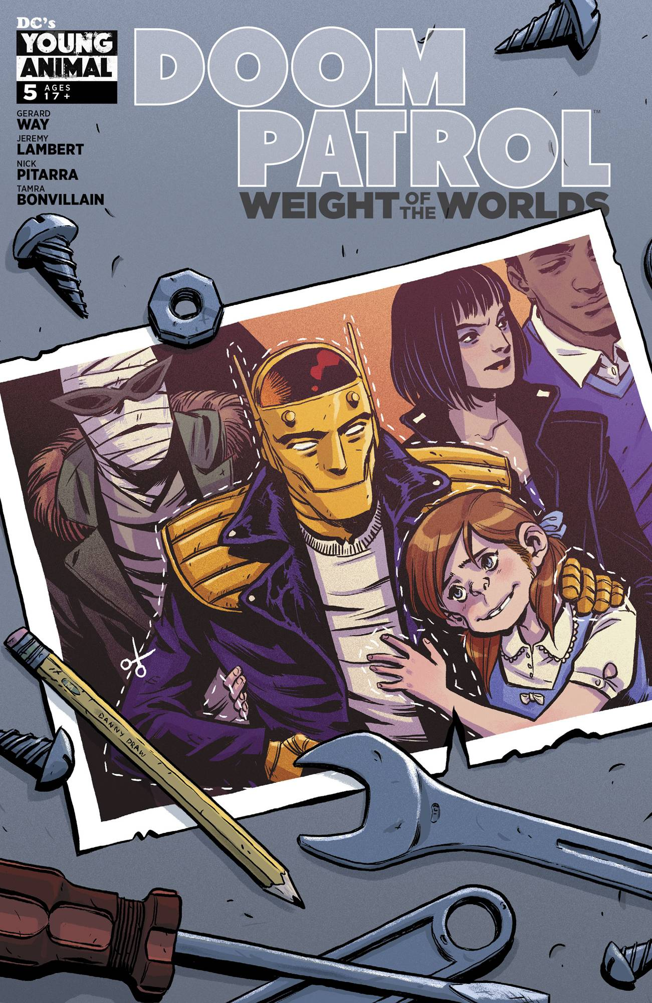 Doom Patrol: The Weight Of The Worlds #5 (2019)