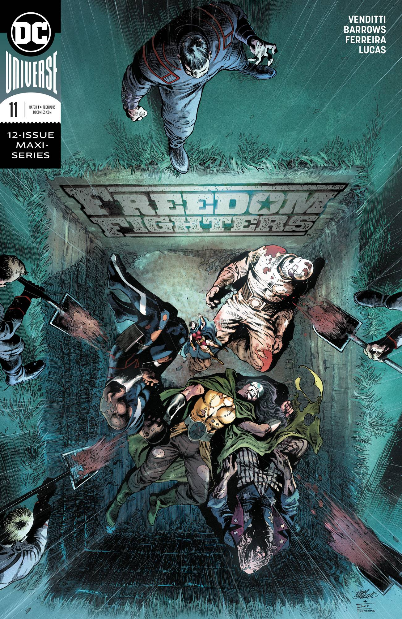 Freedom Fighters #11 (2019)