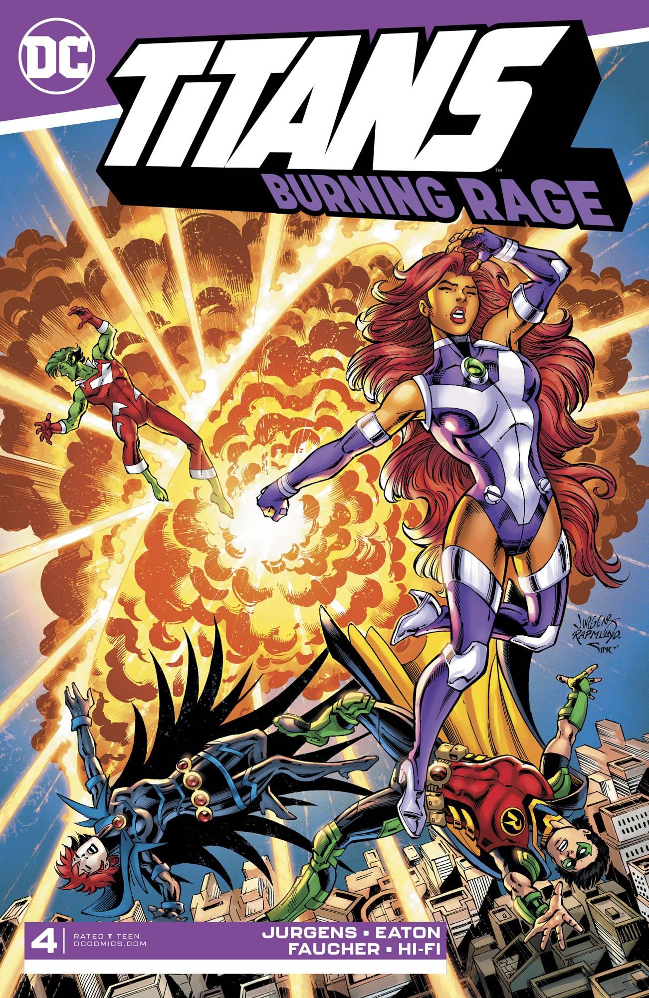 Titans: Burning Rage #4 (2019)