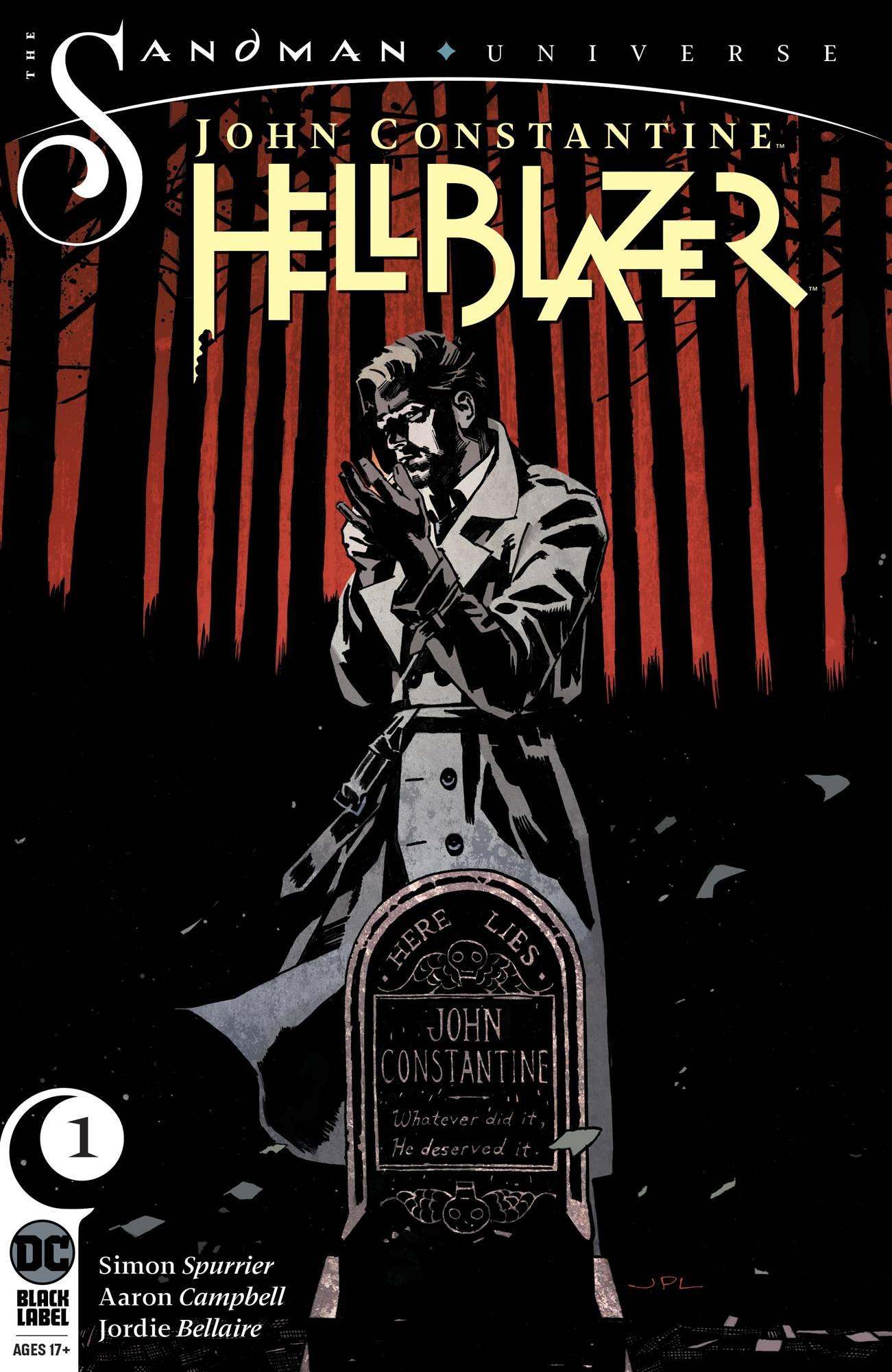 John Constantine Hellblazer #1 (2019)