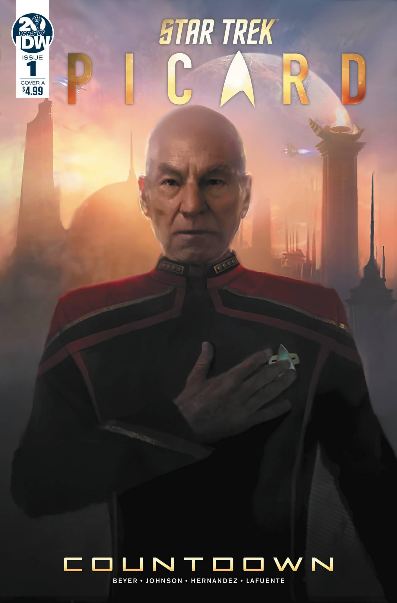 Star Trek: Picard #1 (2019)