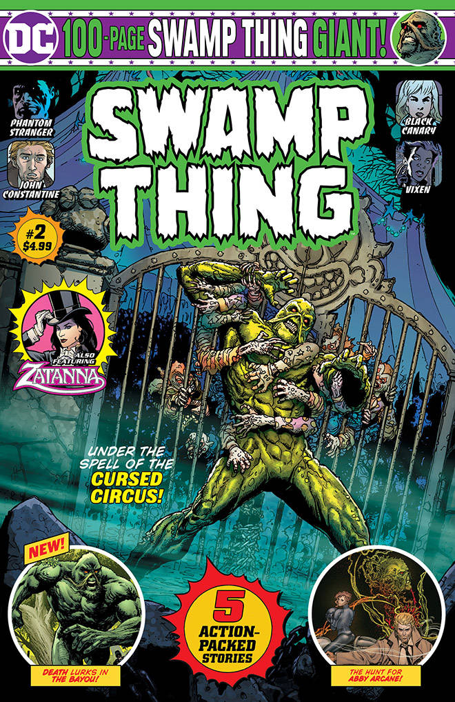 Swamp Thing 100-Page Giant (Walmart) #2 (2019)