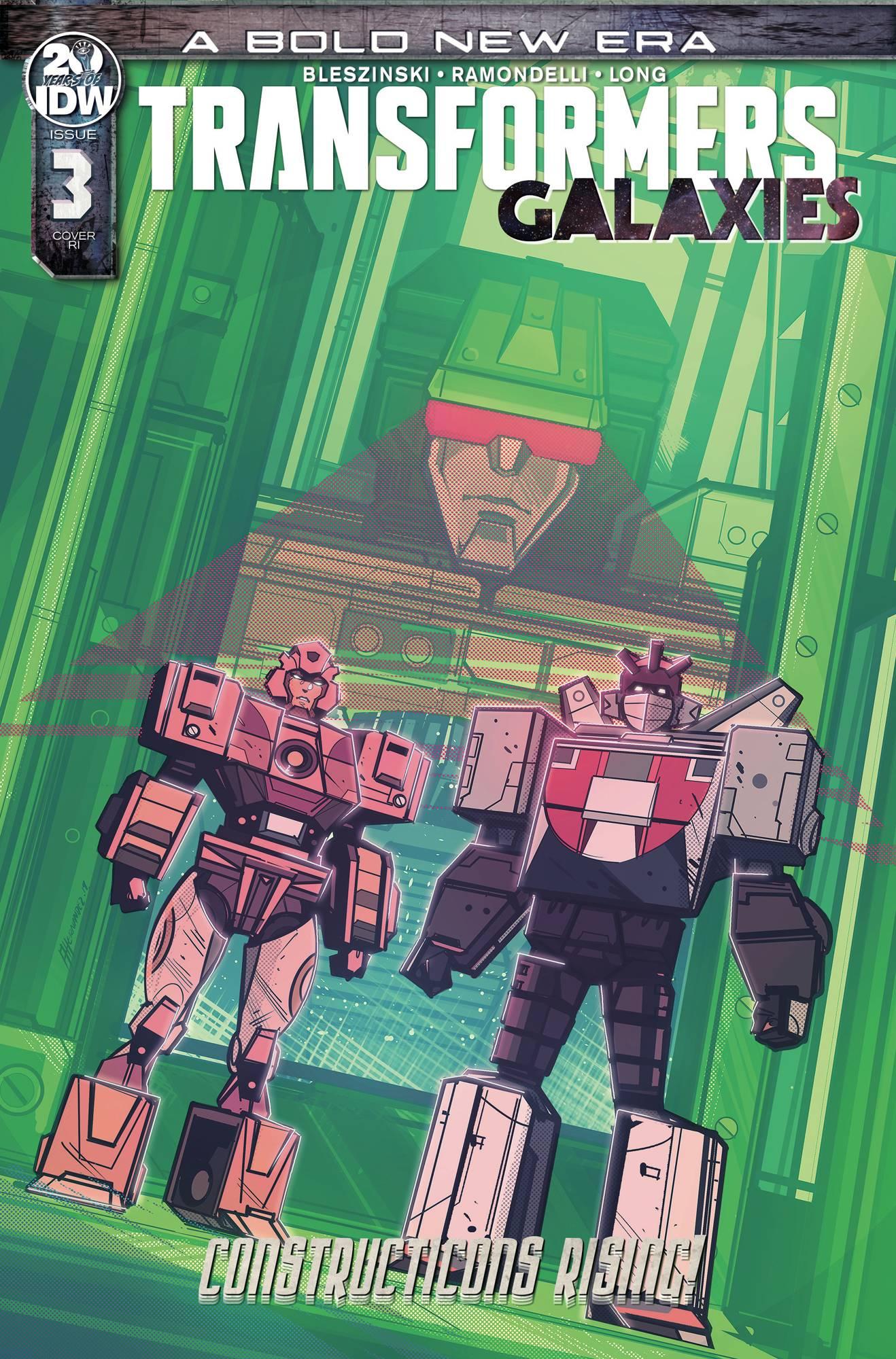 Transformers: Galaxies #3 (2019)