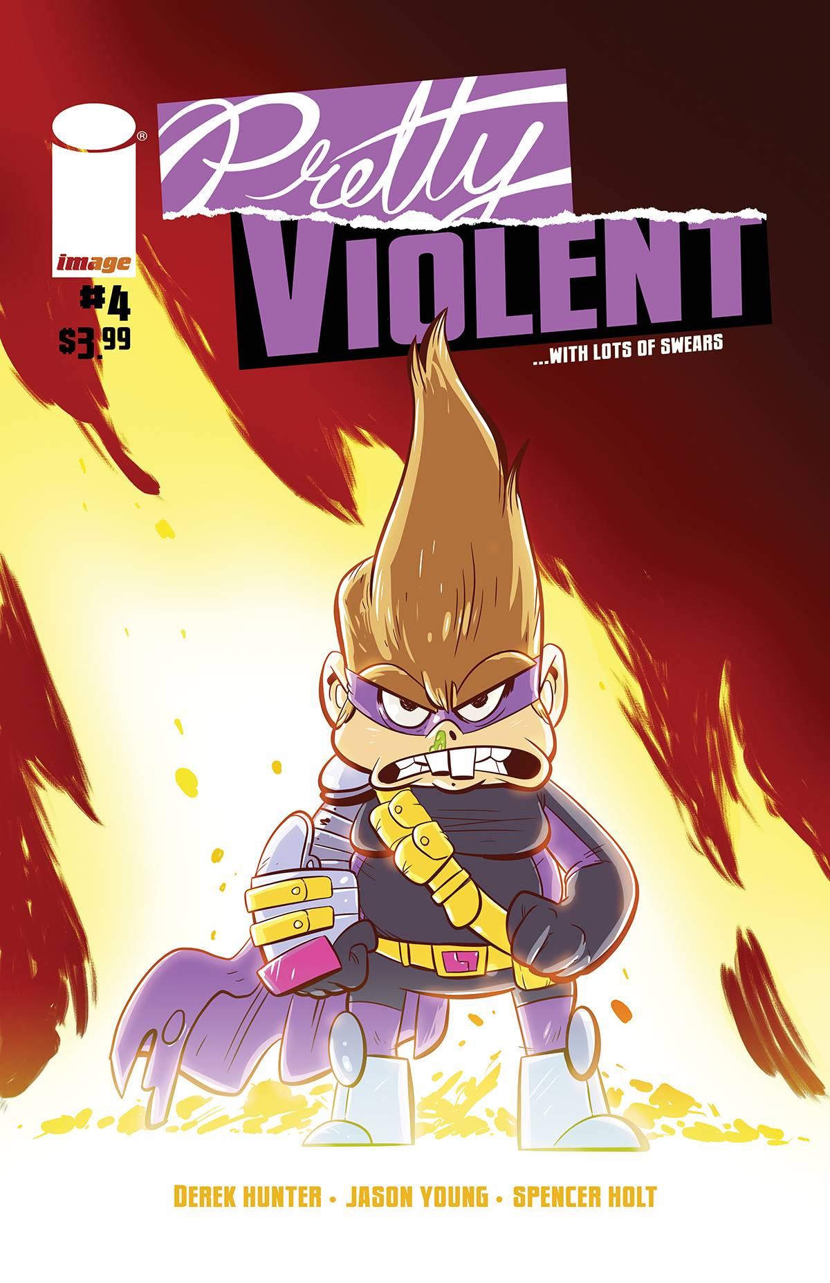 Pretty Violent #4 (2019)