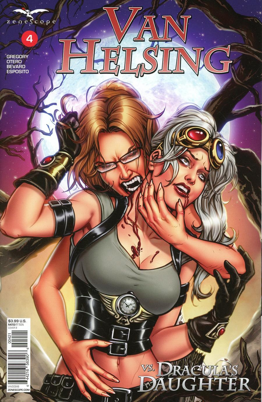 Van Helsing Vs Draculas Daughter #4 (2019)