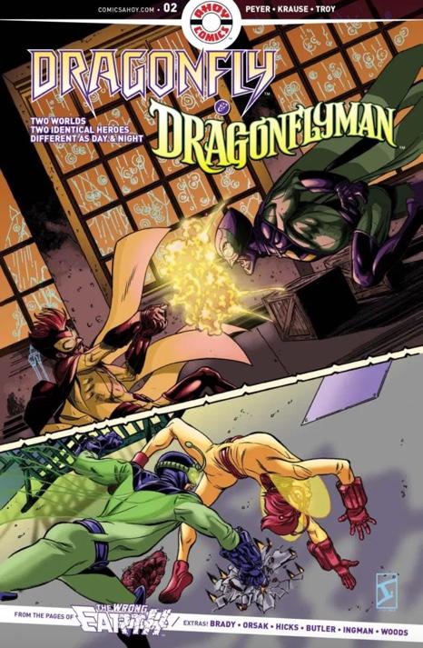 Dragonfly & Dragonflyman #2 (2019)