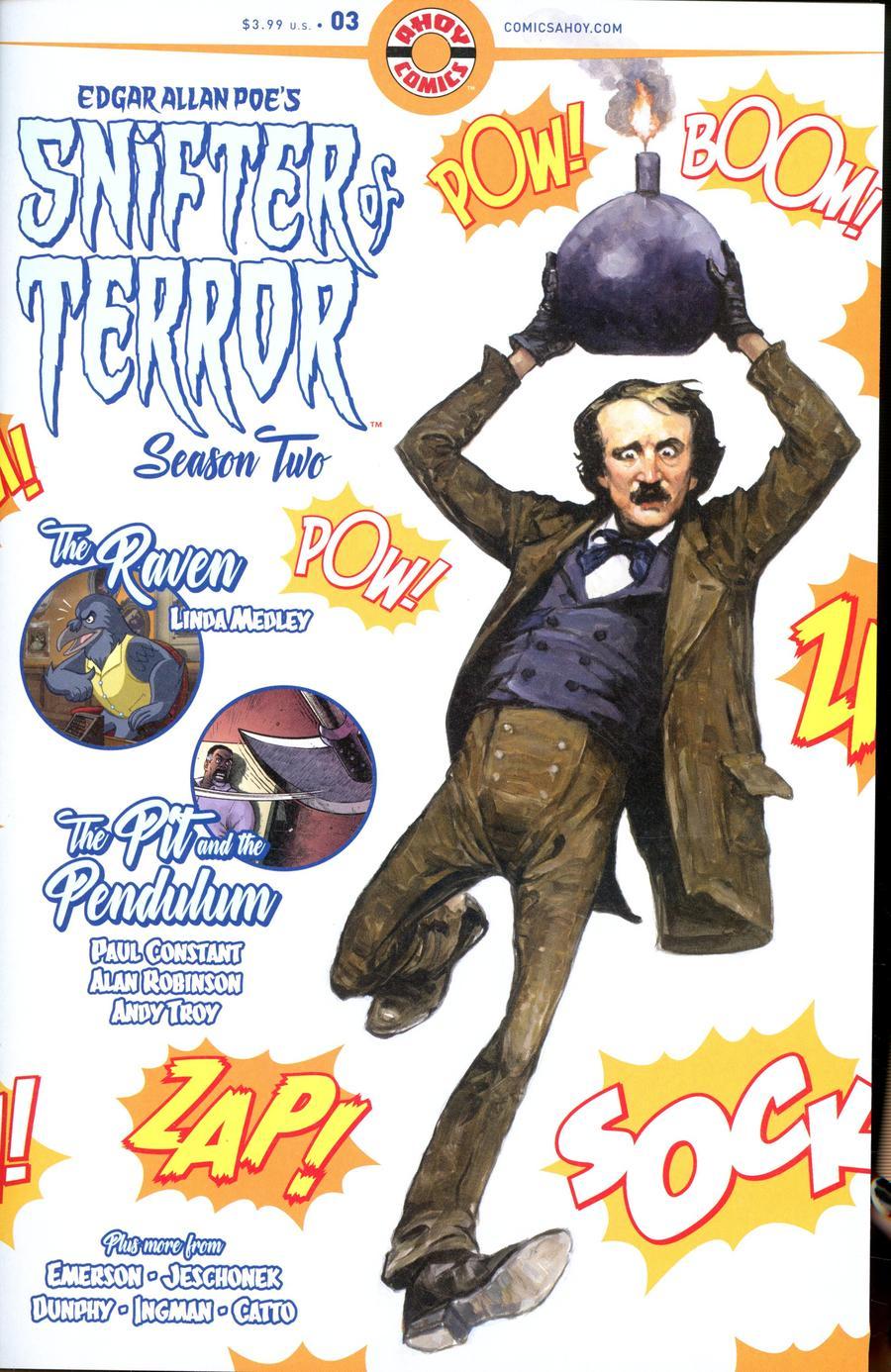 Edgar Allan Poe's Snifter Of Terror (Season 2) #3 (2019)