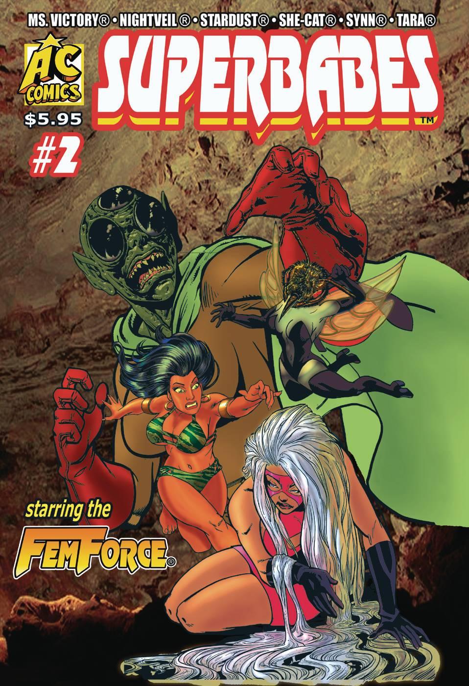 Superbabes: Starring Femforce #2 (2019)