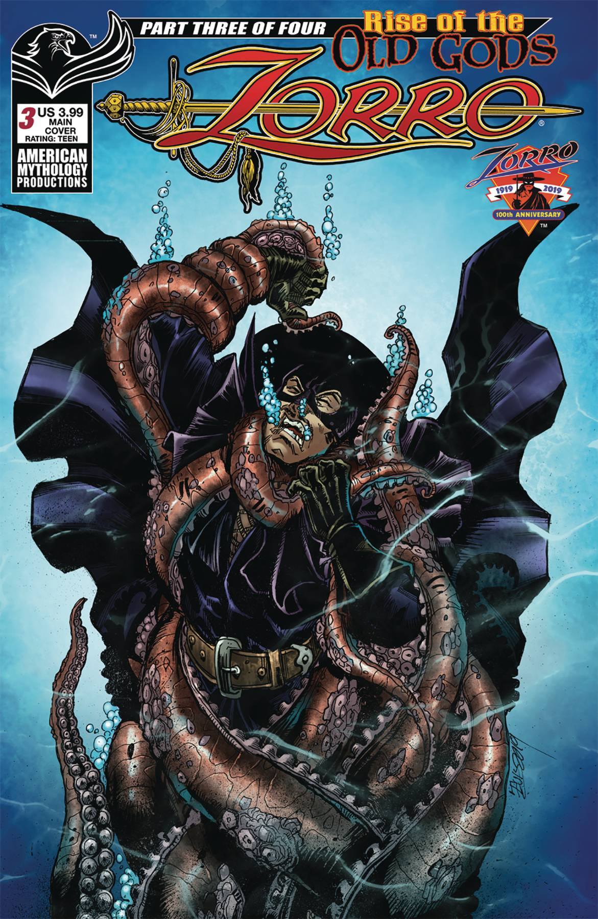 Zorro: Rise Of The Old Gods #3 (2019)