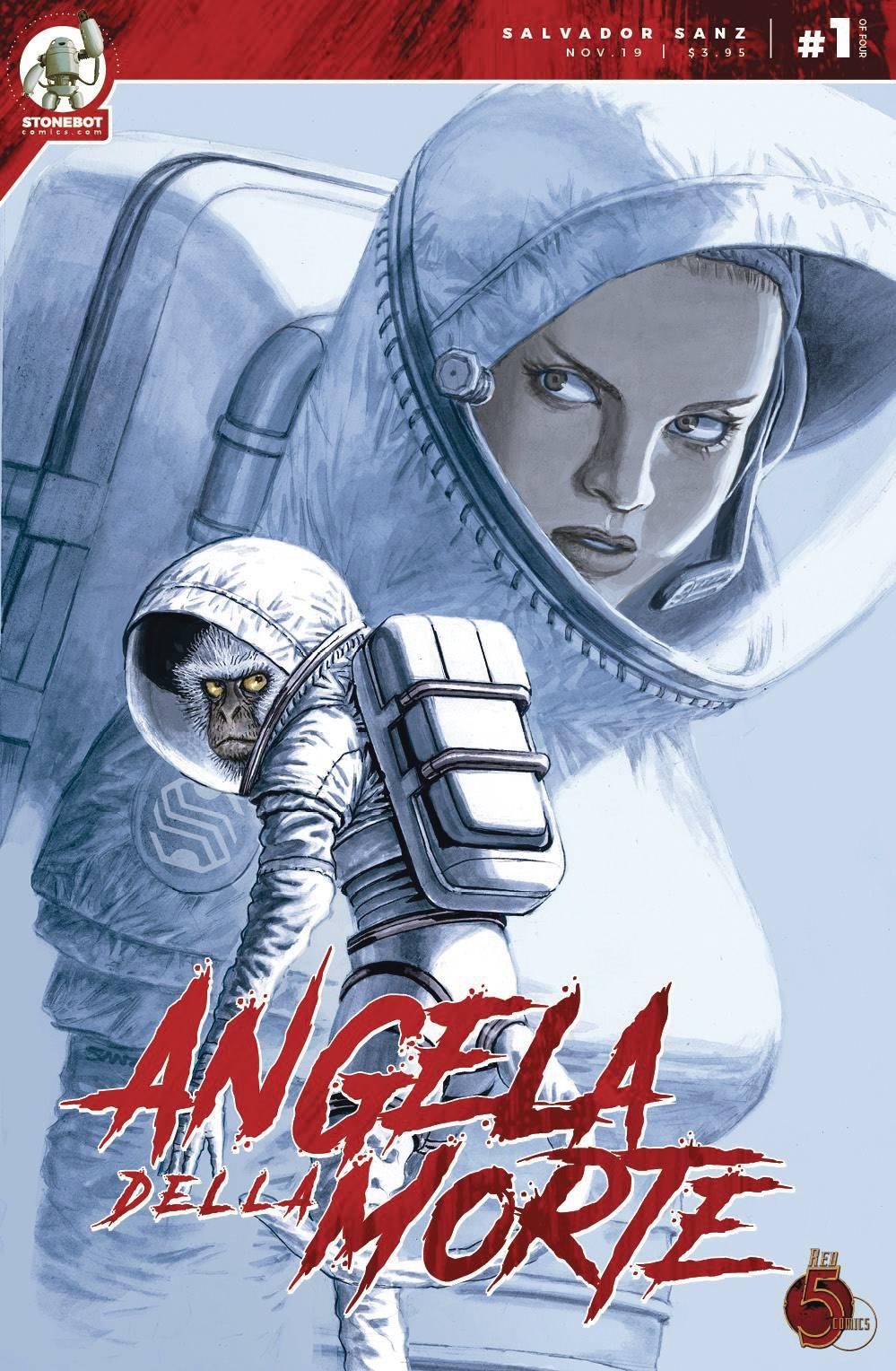 Angela Della Morte #1 (2019)