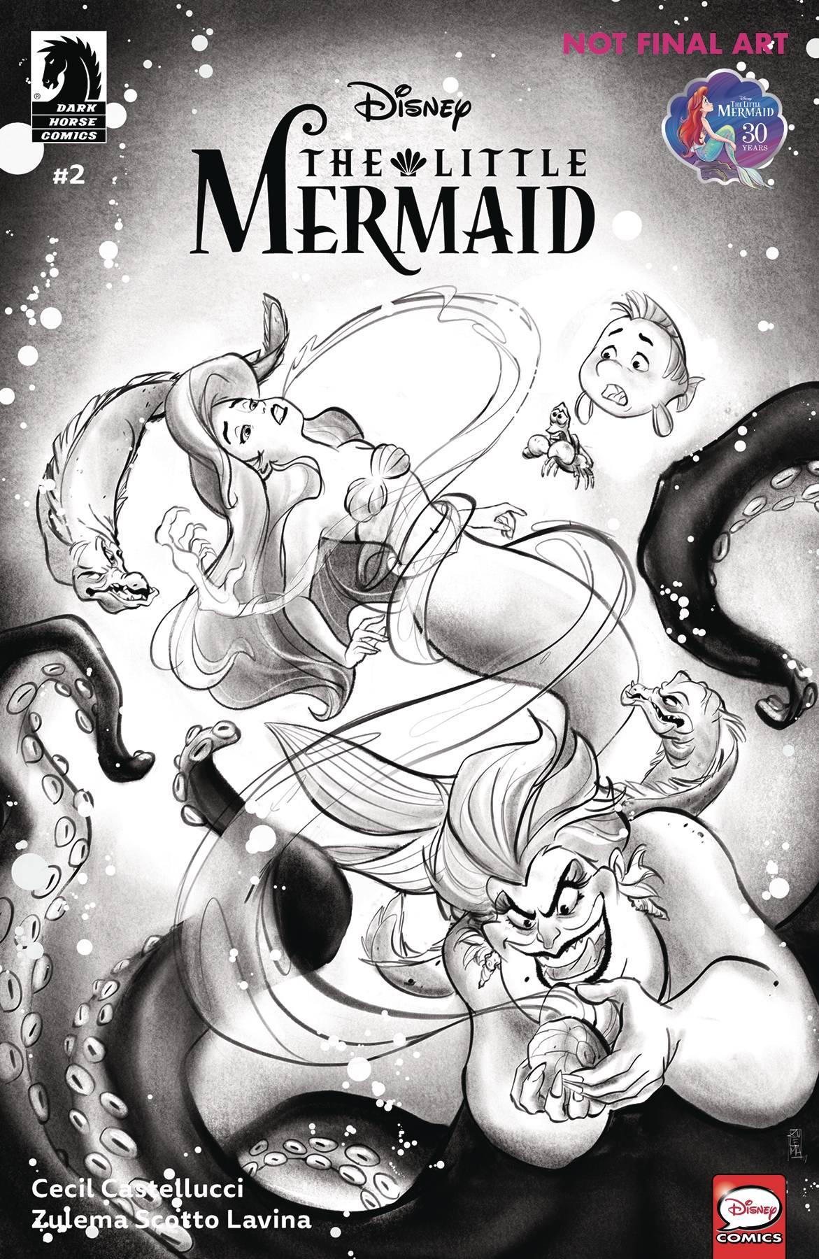 Disney The Little Mermaid #2 (2019)