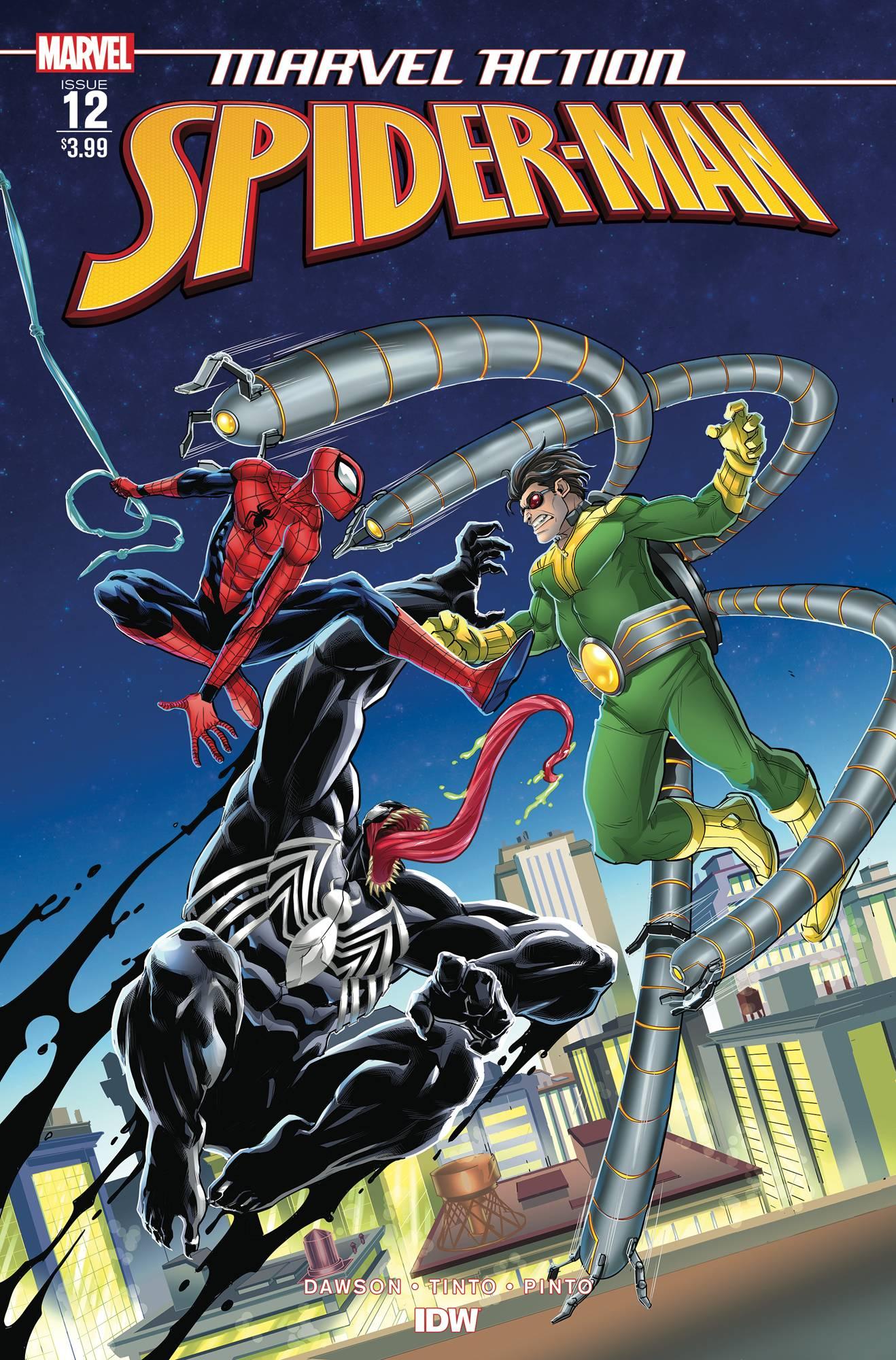 Marvel Action Spider-Man (IDW) #12 (2019)