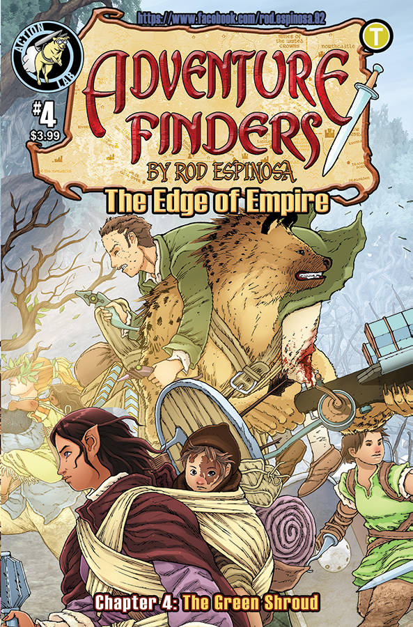 Adventure Finders: The Edge Of Empire #4 (2019)