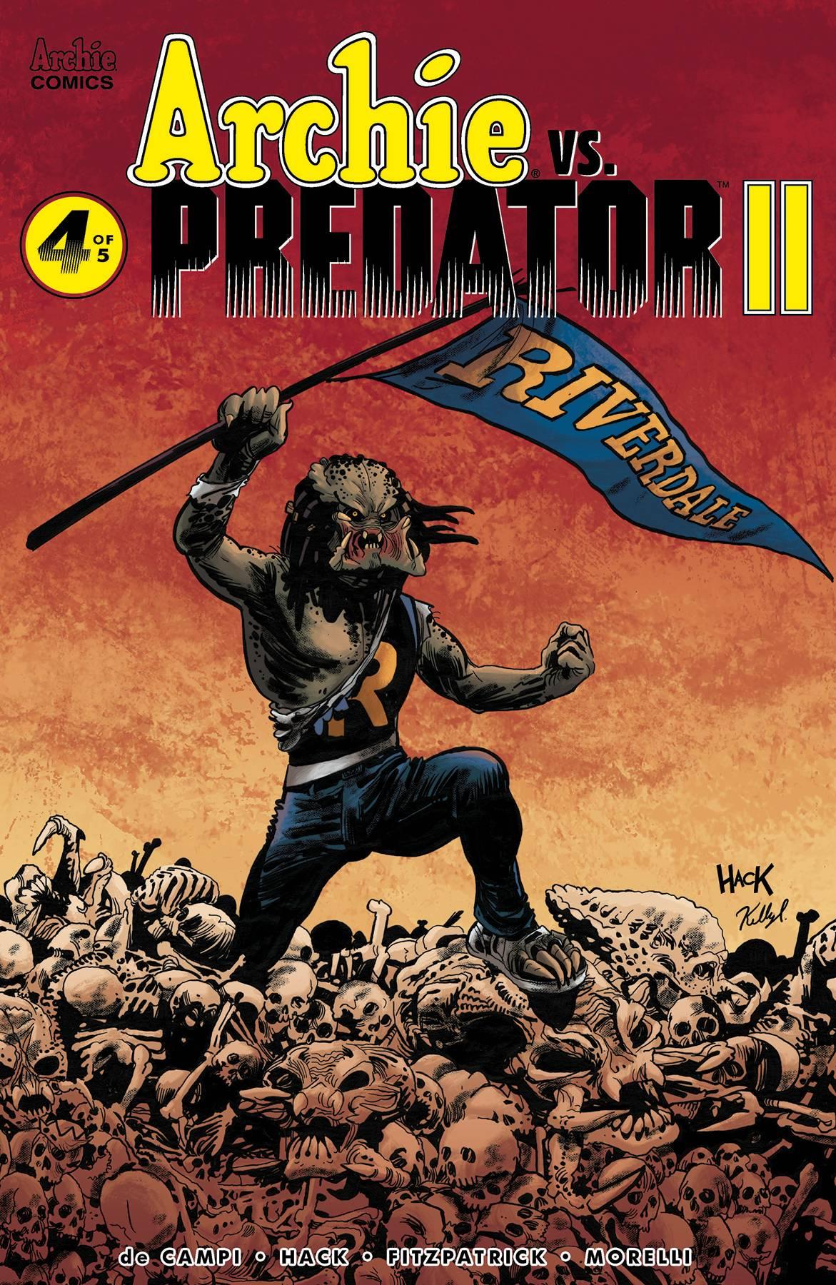 Archie vs Predator 2 #4 (2019)