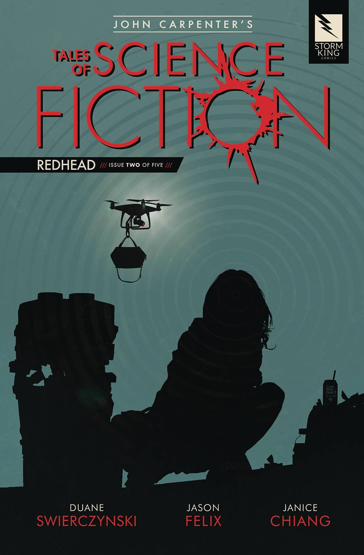 John Carpenter's Tales Science Fiction: Redhead #2 (2019)