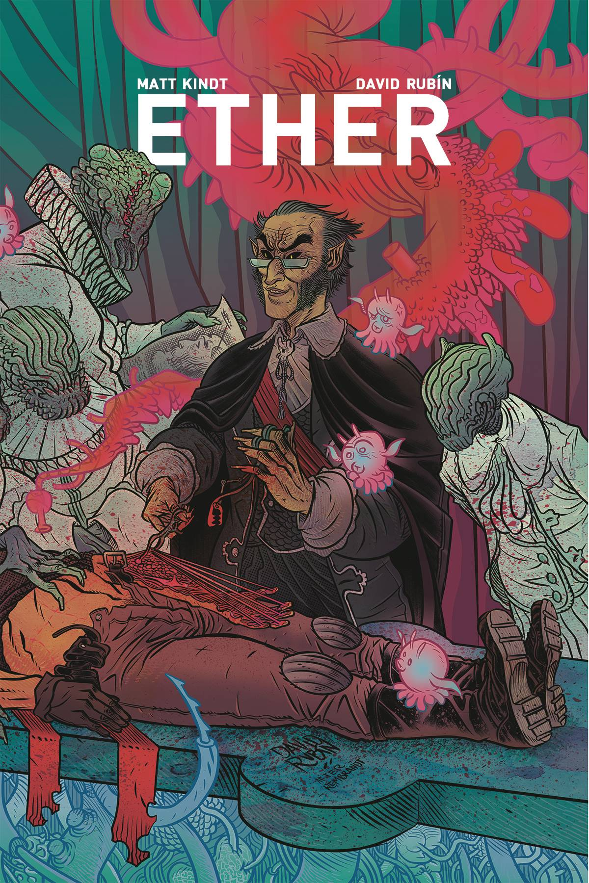 Ether: The Disappearance Of Violet Bell #4 (2019)