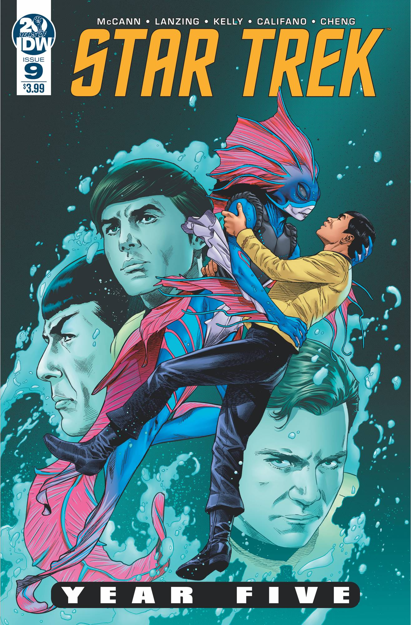 Star Trek: Year Five #9 (2019)