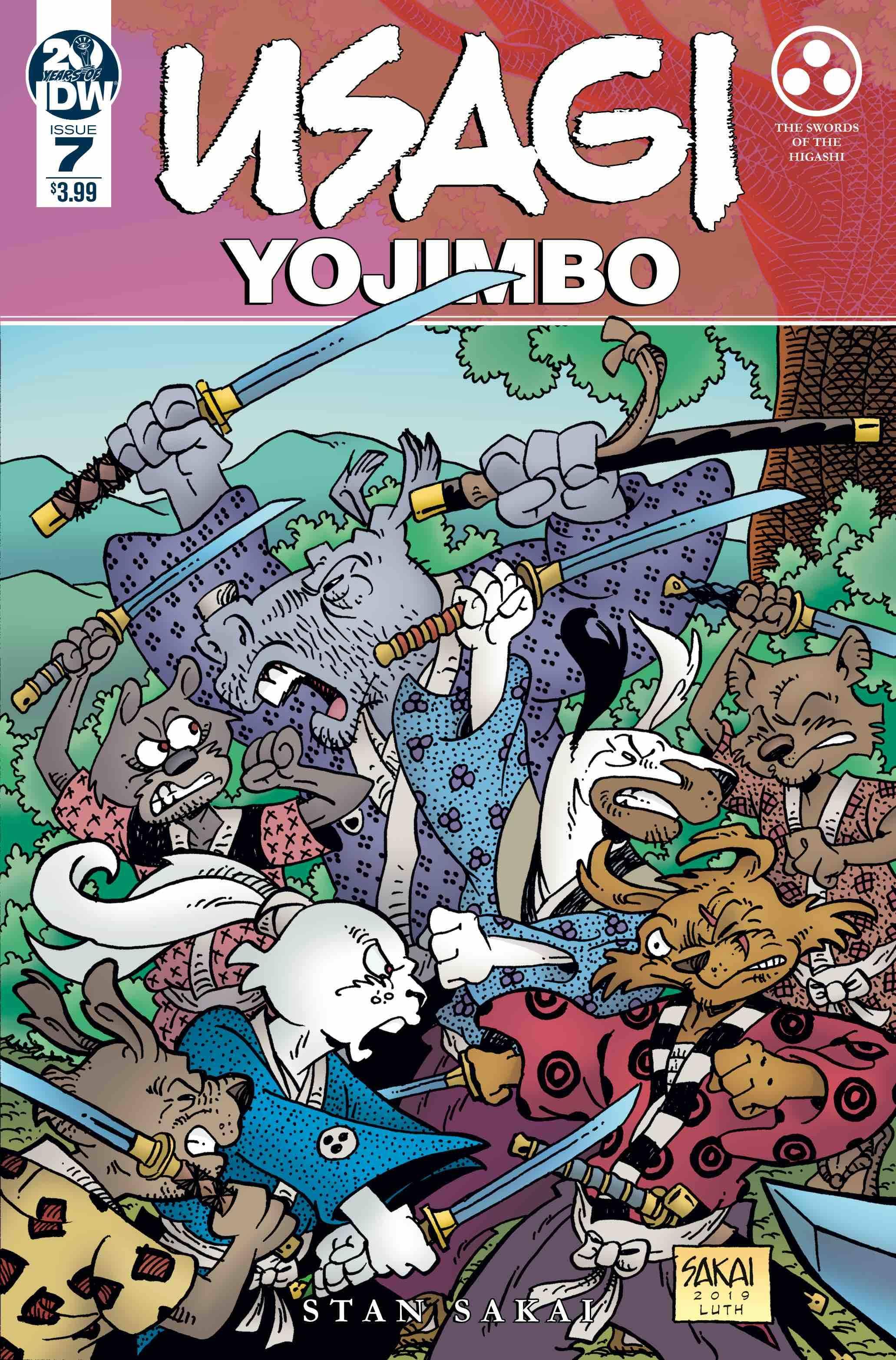 Usagi Yojimbo #7 (2019)