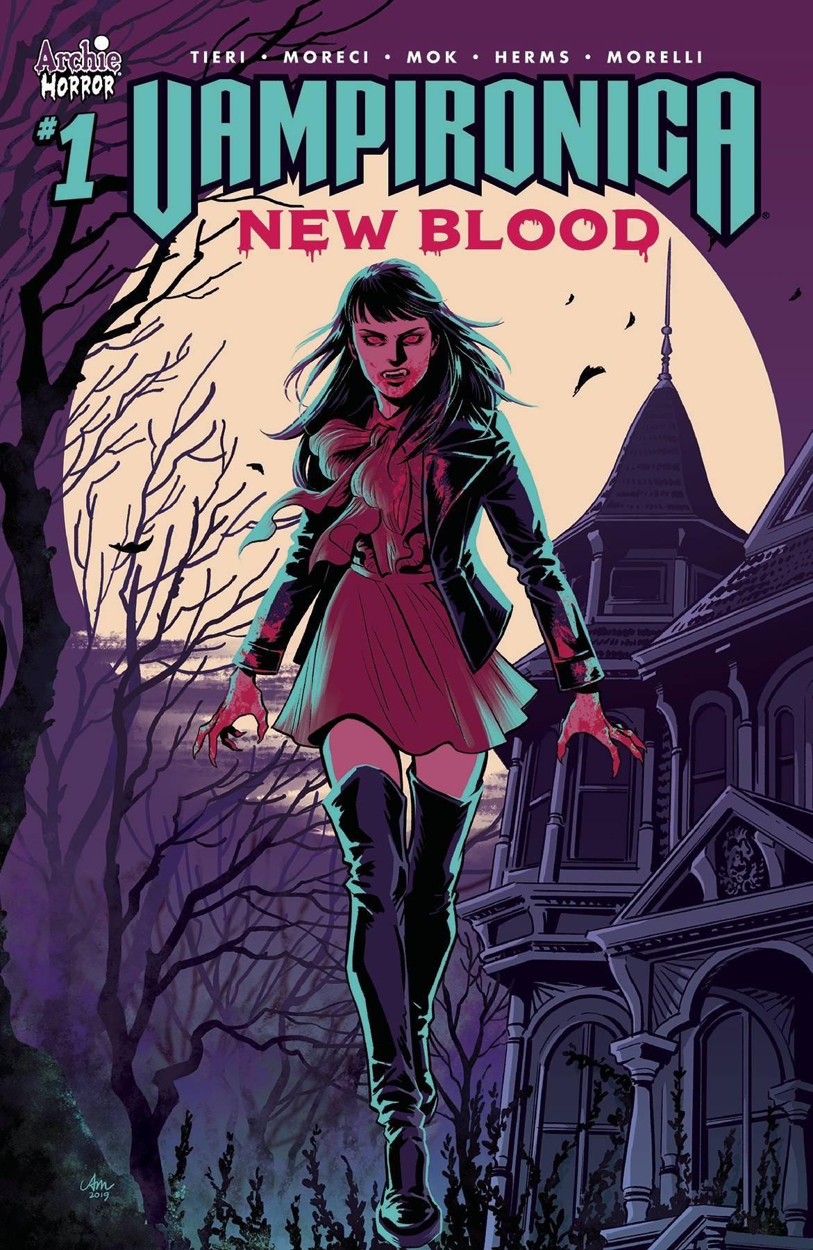 Vampironica: New Blood #1 (2019)