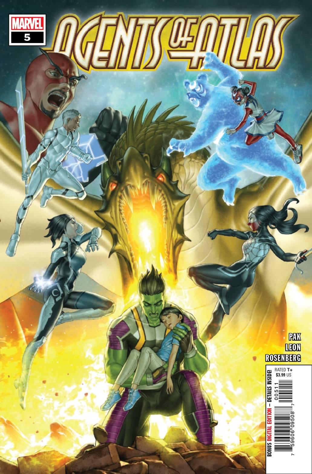 Agents Of Atlas #5 (2019)
