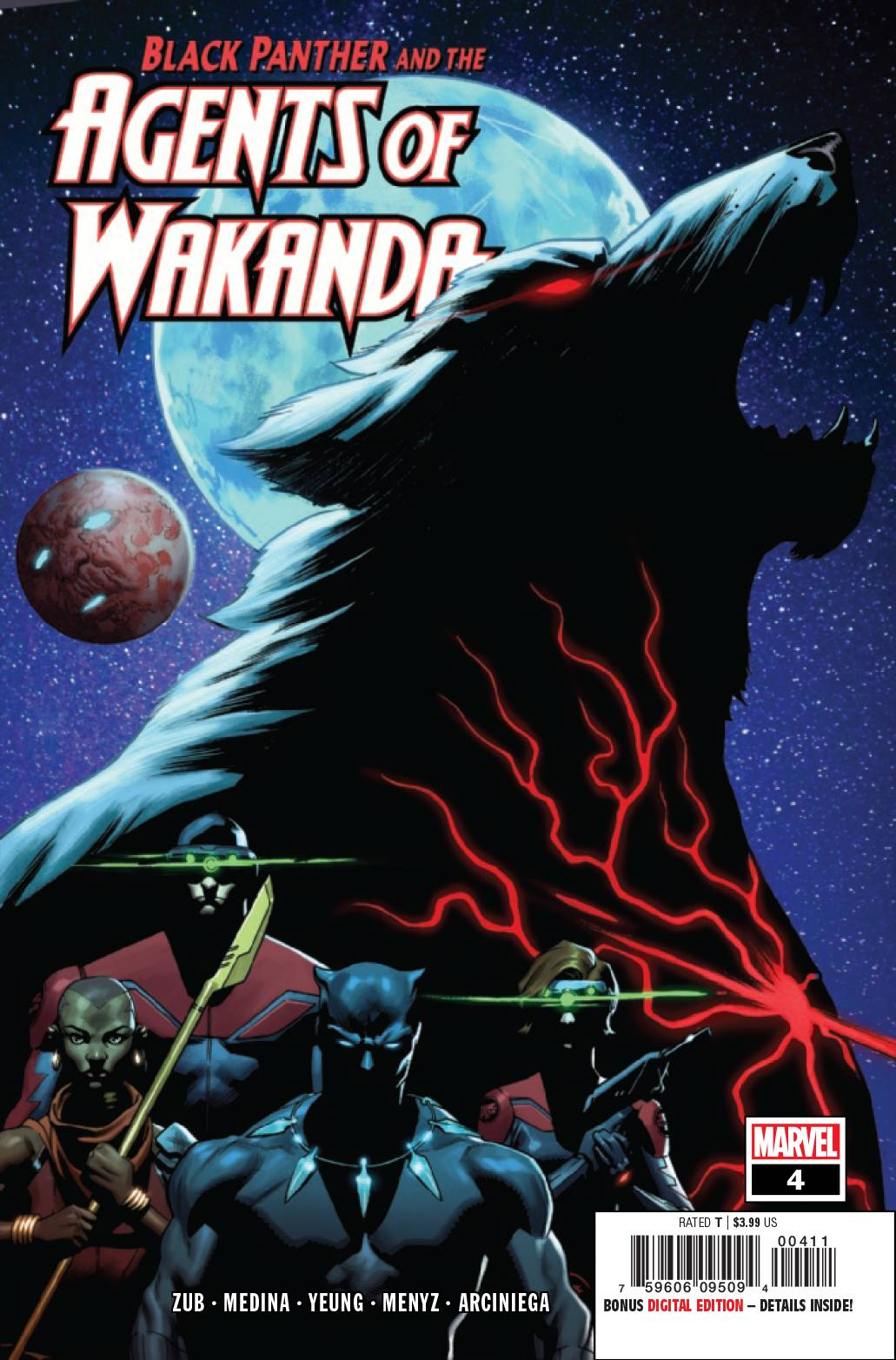 Black Panther and the Agents of Wakanda #4 (2019)