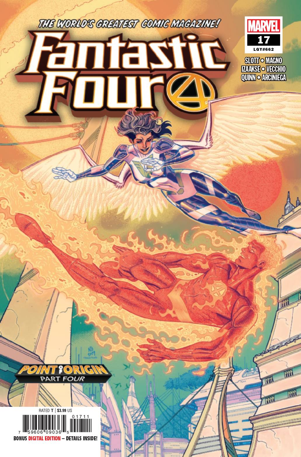 Fantastic Four #17 (2019)