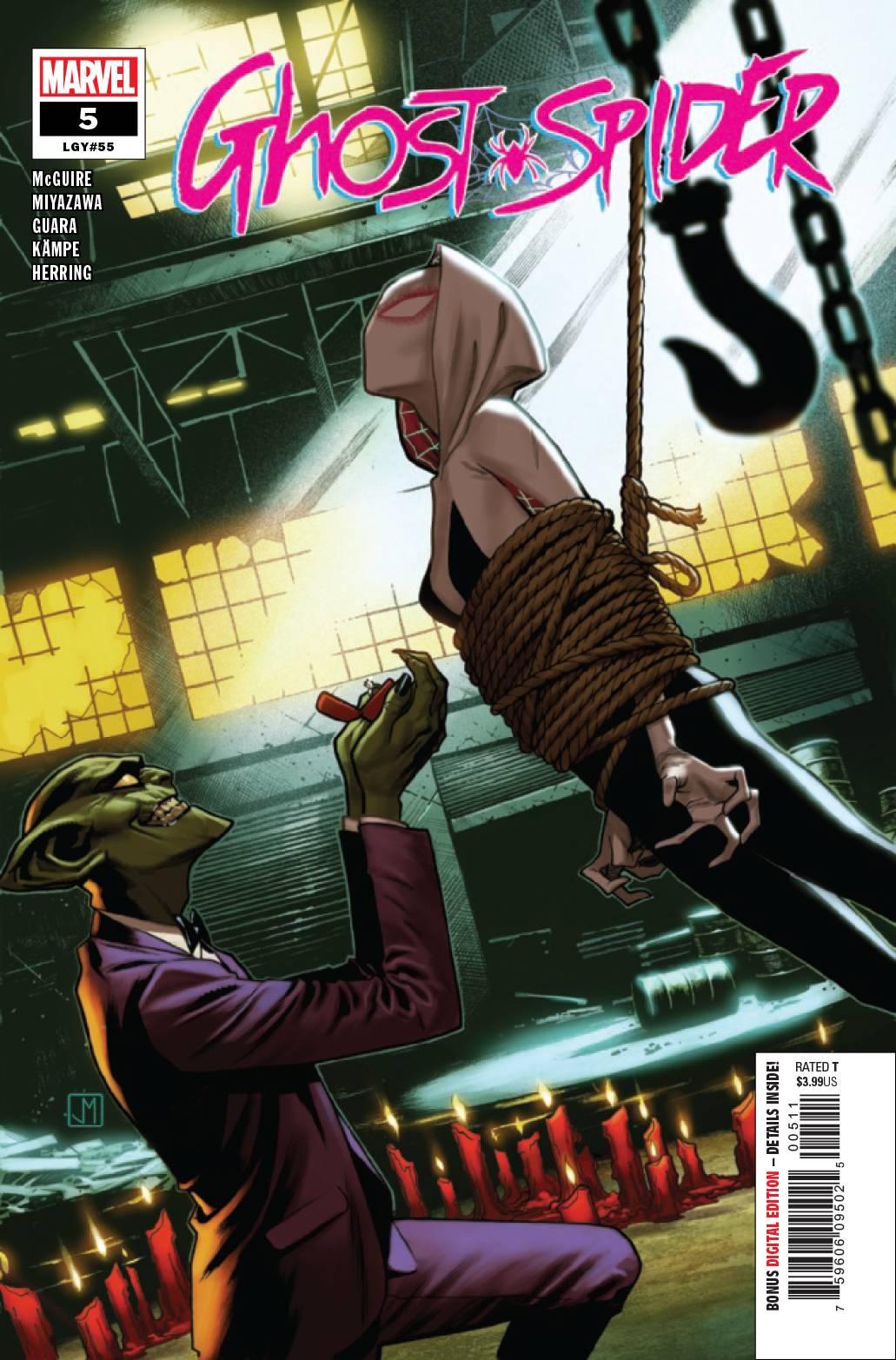 Ghost-Spider #5 (2019)