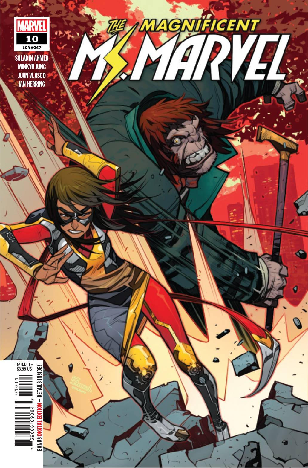 The Magnificent Ms. Marvel #10 (2019)
