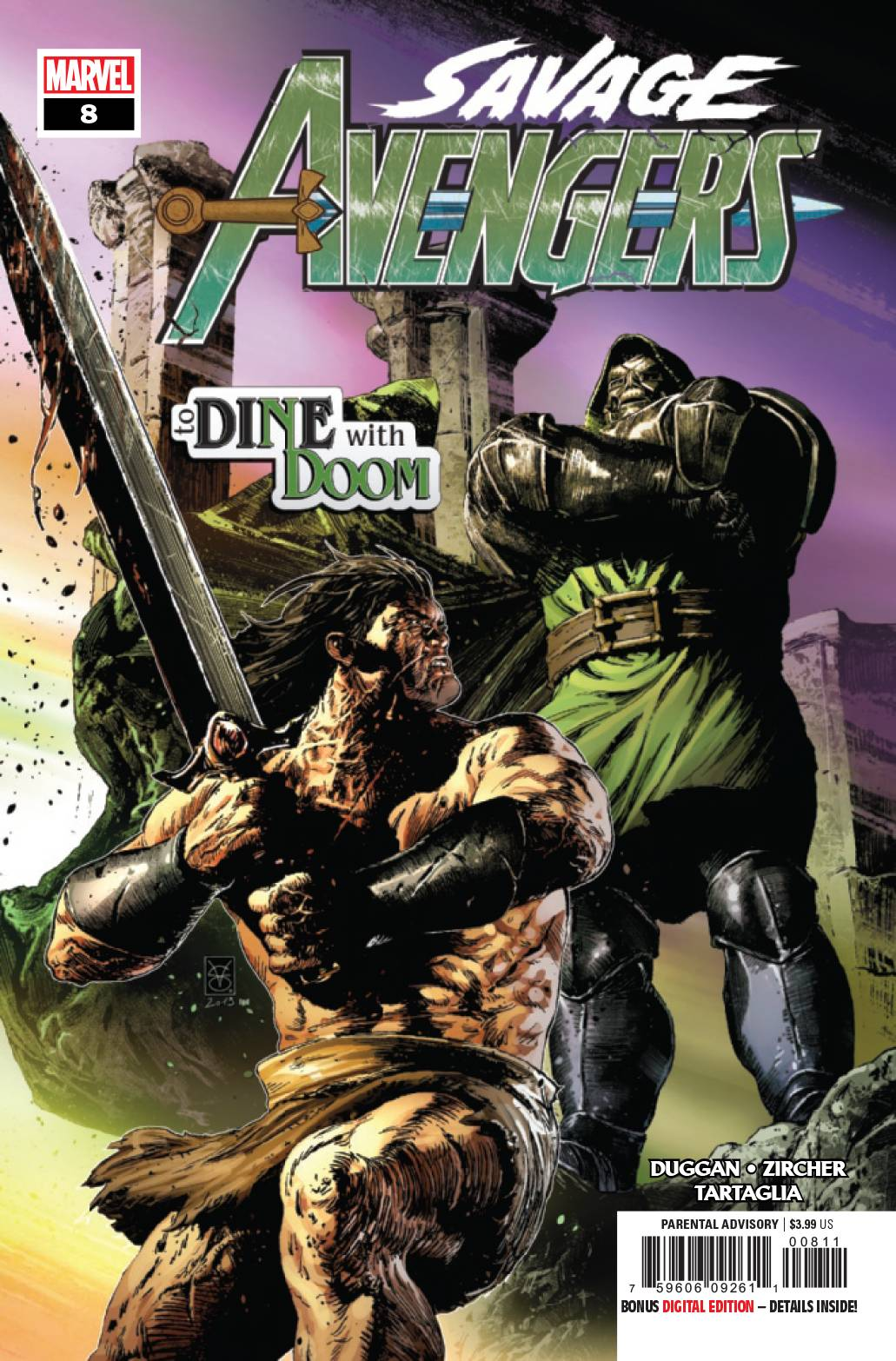 Savage Avengers #8 (2019)