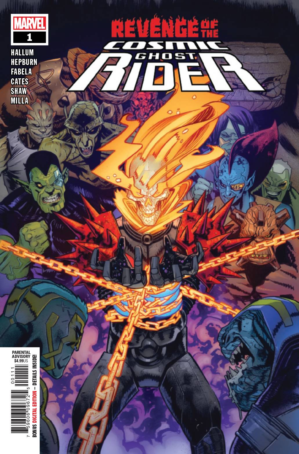 Revenge of the Cosmic Ghost Rider #1 (2019)