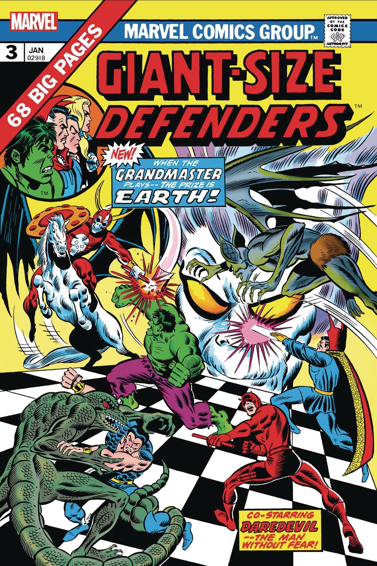 Giant-Size Defenders #3 (2019)